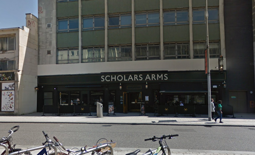 Scholar's Arms (pic: Google)