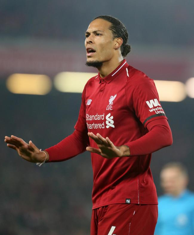 Liverpool Defender Virgil Van Dijk Will Be Fit For Southampton Trip Daily Echo