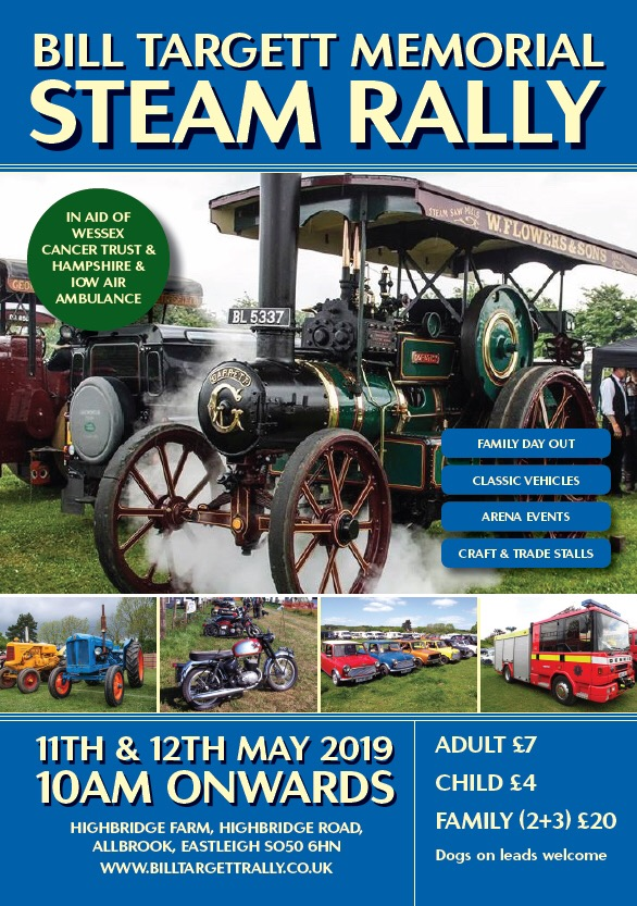 Bill Targett Memorial Steam Rally