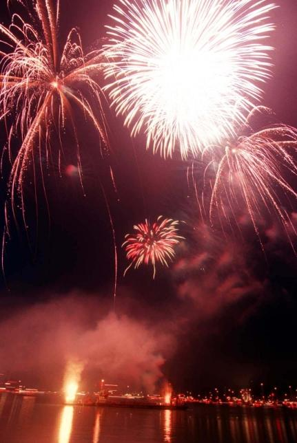 Fireworks finale to end Cowes Week