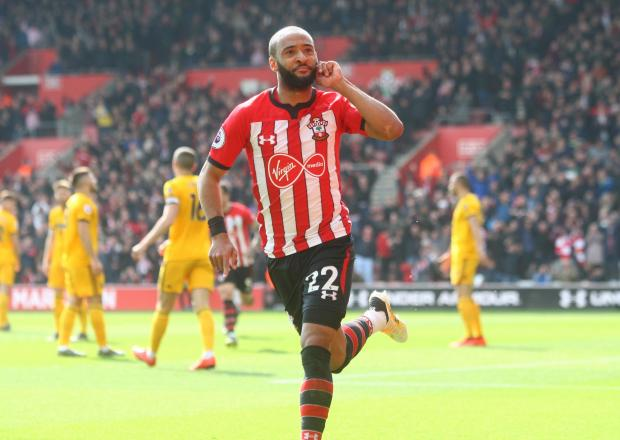 Daily Echo: Nathan Redmond after scoring against Wolves