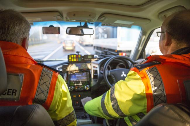 Highways England traffic officers will be working 24/7 as usual to help people who get into difficulty.