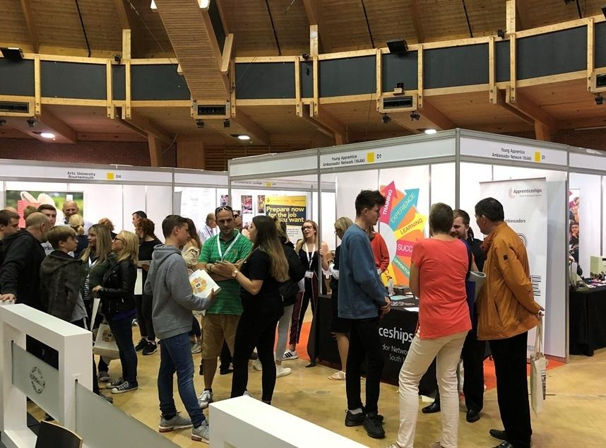Job opportunities as career and apprenticeship show at St