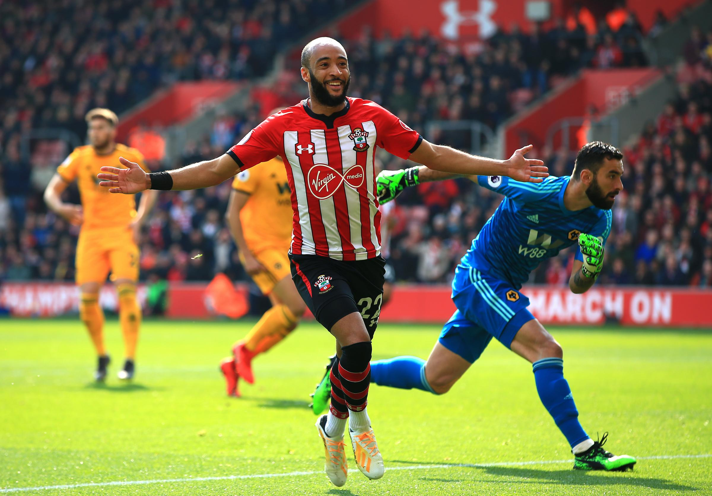 Nathan Redmond's on course for a personal-best goals tally