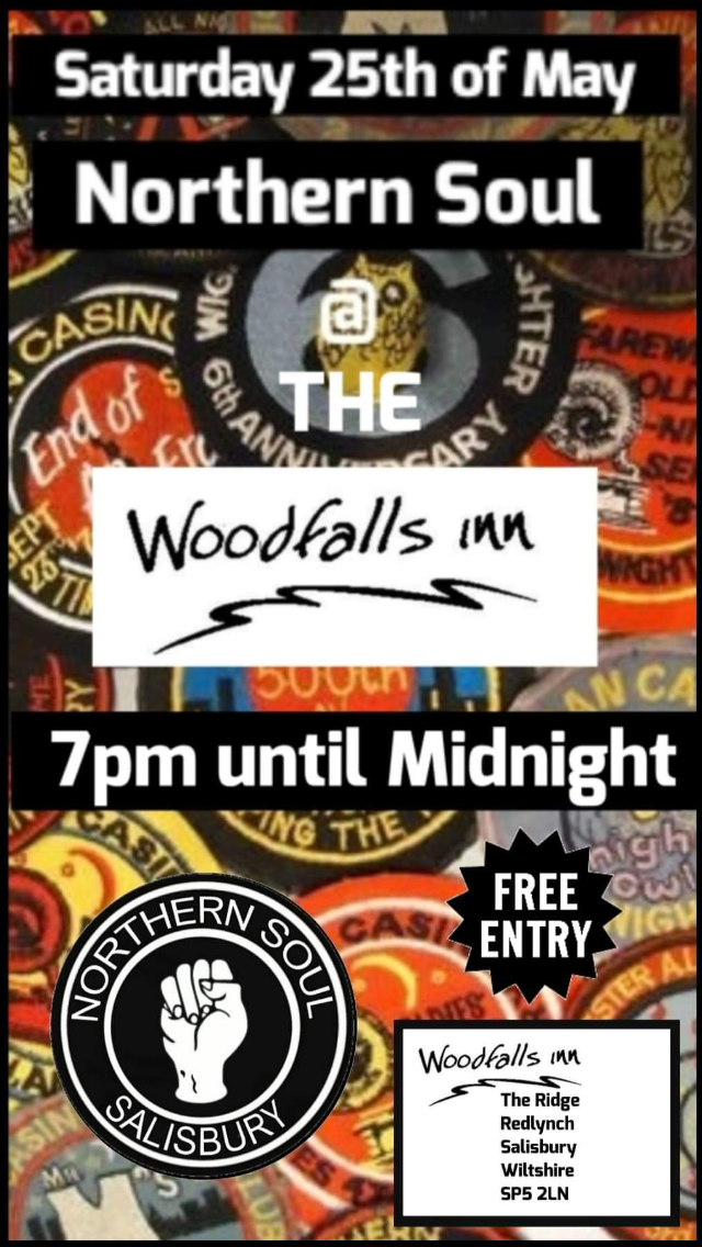 Northern Soul Night at The Woodfalls Inn