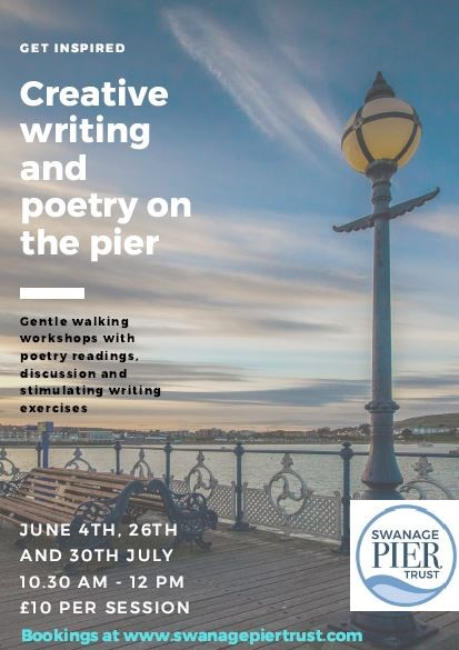 Creative Writing and Poetry on the Pier - Purbeck Stone