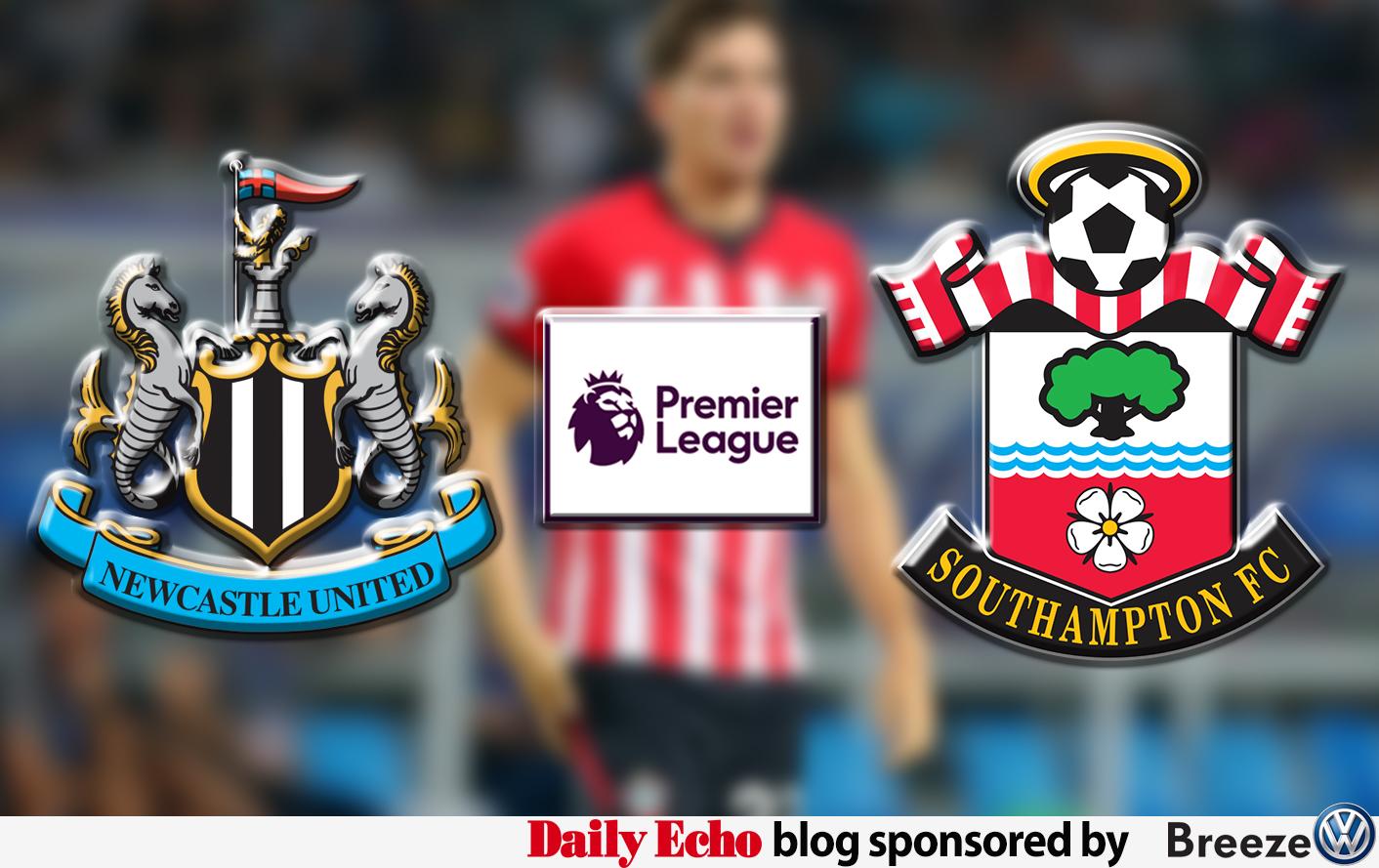 Newcastle v Saints: MATCHDAY LIVE