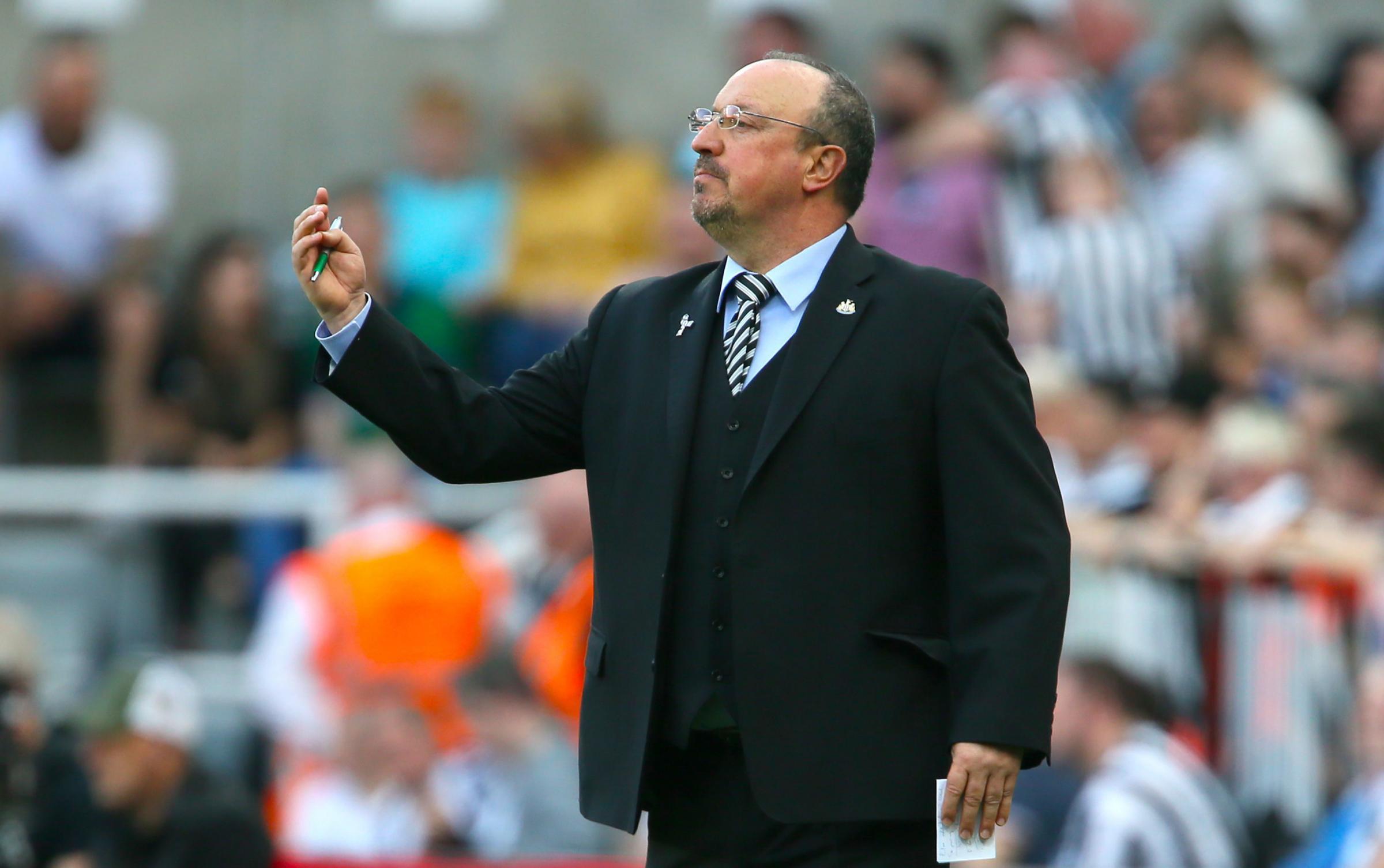 Benitez: Newcastle should be a top ten club