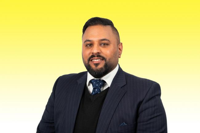 WEALTH OF EXPERIENCE: Gurdeep Virdi who has joined the Solent office of Property consultancy Vail Williams LLP as an associate in the property asset management team