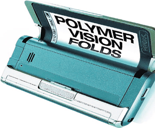 PIONEERS: Polymer Vision was developing roll-screen technology