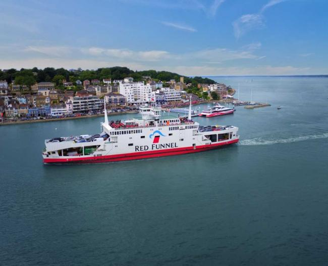 Red Funnel have been experiencing IT issues.