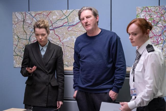 WARNING: Embargoed for publication until 00:00:01 on 30/04/2019 - Programme Name: Line of Duty - Series 5 - TX: n/a - Episode: Line of Duty S5 - Episode 6 (No. 6) - Picture Shows: ***EMBARGOED TILL 00:01 30TH APRIL 2019*** Carmichael (ANNA MAXWELL MARTIN)