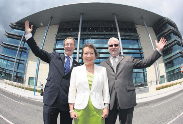 Opening of landmark city base for Carnival UK