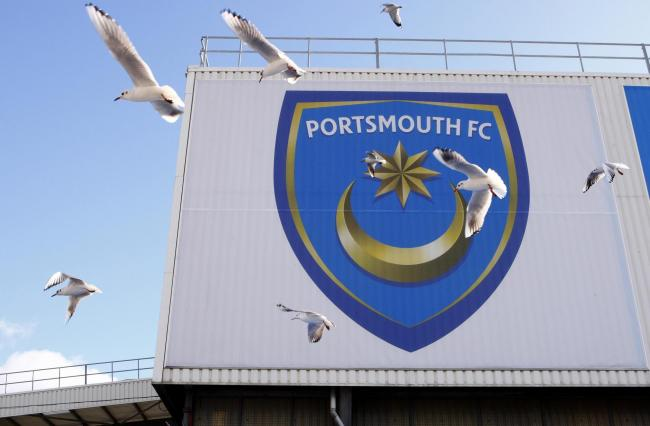 File photo dated 10/02/2010 of a general view of Fratton Park, Portsmouth. PRESS ASSOCIATION Photo. Issue date: Tuesday January 24, 2012. Portsmouth have been issued with a winding-up petition over an unpaid tax bill of £1.6million, HM Revenu