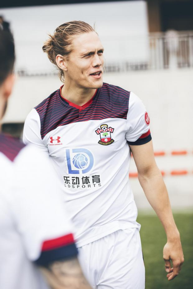 Daily Echo: Jannik Vestergaard in the third choice shirt