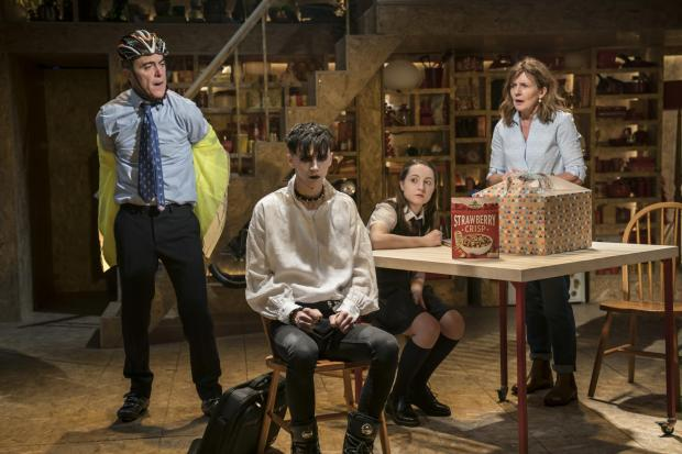 James Nesbitt, Scott Folan, Kirsty MacLaren & Clare Burt in This Is My Family