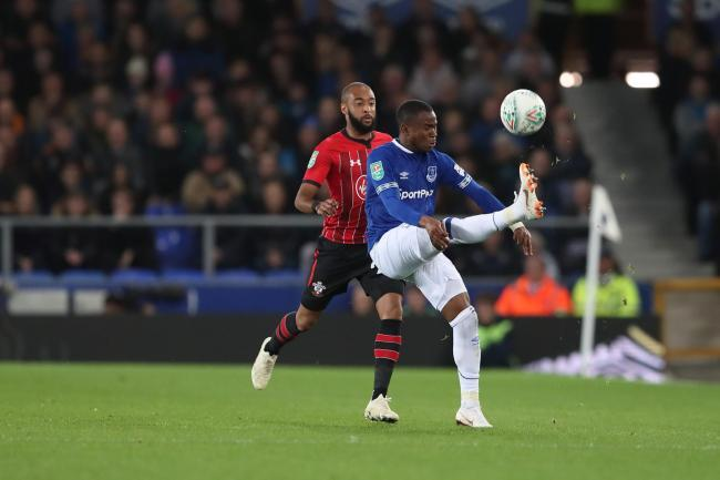 Ademola Lookman in action against Saints