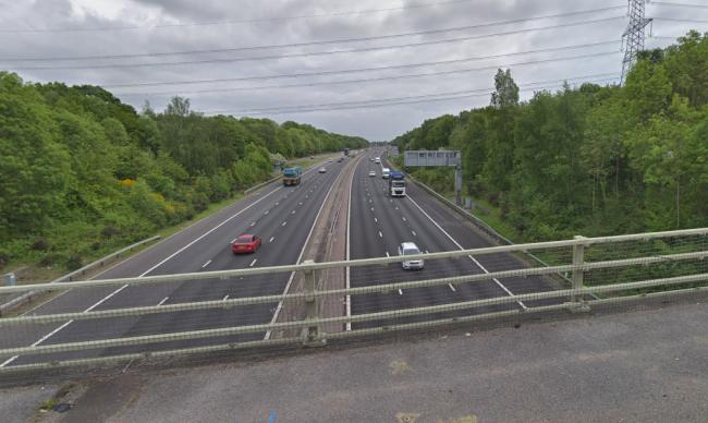 The M27 near junction nine (Google Maps)