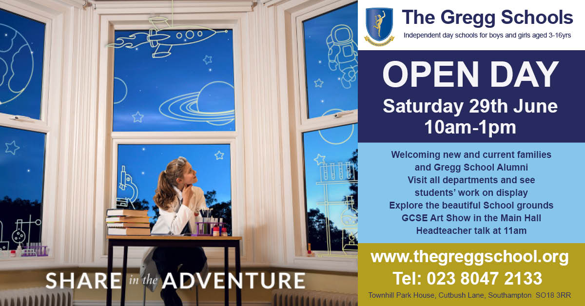 The Gregg School Open Day