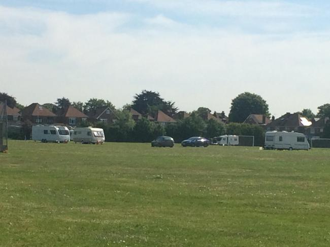 Travellers at Veracity Ground
