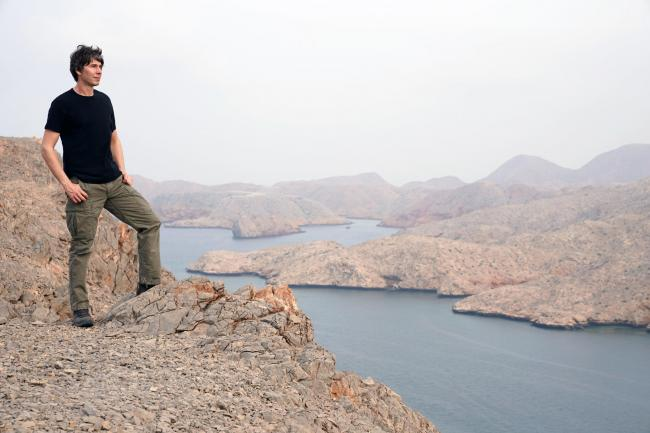 Professor Brian Cox in Oman. Picture: PA Photo/BBC Studios/Brian Cox/Katy Savage.