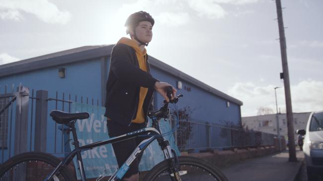 Teenager takes on exciting cycling challenge with Yorkshire Bank Bike Libraries