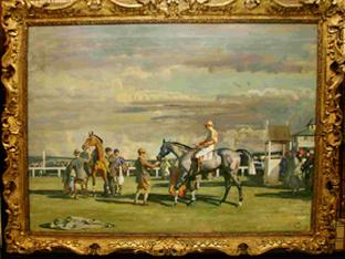 AFTER THE RACE: By Sir Alfred Munnings.  £2m to £4m