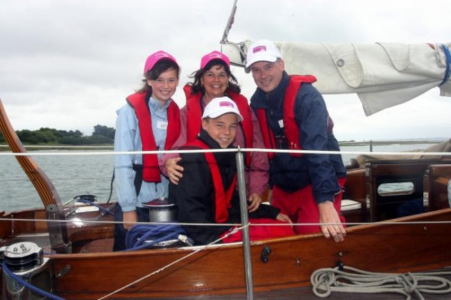 Sailing treat for Hampshire family